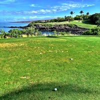 Photo taken at Mauna Kea Golf Course by Grant C. on 4/15/2015