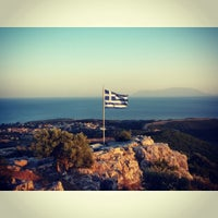 Photo taken at Προφήτης Ηλίας by Vanessa on 7/17/2015