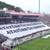 Photo taken at Beşiktaş İnönü Stadyumu Yeni Açık by YuruGunese on 2/9/2013