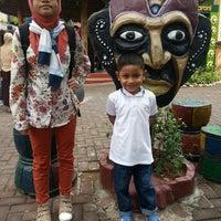 Photo taken at Maharani Zoo & Goa Lamongan by Andri W. on 7/29/2014