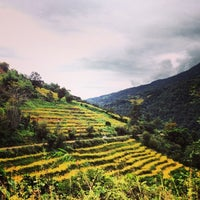 Photo taken at Punakha by Lesley L. on 11/8/2013
