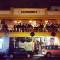 Photo taken at BEERHOUSE on Long by Lesley L. on 5/10/2014