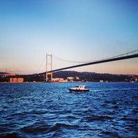Photo taken at Bosphorus Bridge by Lesley L. on 8/22/2013