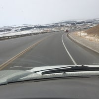 Photo taken at Cochrane, Alberta by Frieso P. on 1/14/2016