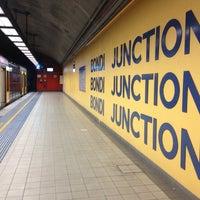 Photo taken at Bondi Junction Station by Rob S. on 2/1/2013