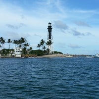 Photo taken at Hillsboro Inlet Lighthouse by Neil M. on 7/4/2013