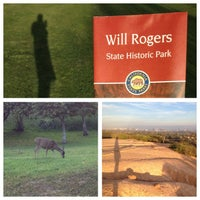 Photo taken at Will Rogers State Historic Park by Victor V. on 3/15/2013