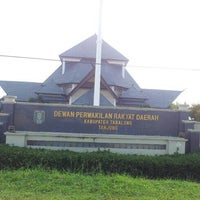 Photo taken at Gedung DPRD Kab. TABALONG by evi l. on 6/25/2014