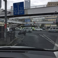 Photo taken at 泉崎交差点 by Cherry Merry C. on 5/2/2017