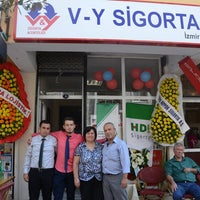 Photo taken at V-Y SİGORTA İZMİR by Berkan S. on 9/21/2014