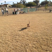 Photo taken at Echo Mountain Dog Park by Akemi on 12/23/2012