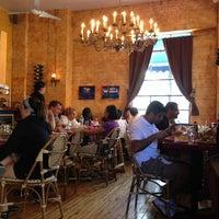 Photo taken at Cafe Henri - LIC by C. Sha•Doe M. on 8/4/2013