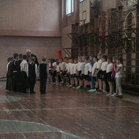 Photo taken at Школа № 348 by Катерина К. on 2/20/2014