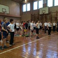Photo taken at Школа № 348 by Катерина К. on 3/14/2014