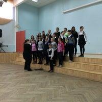 Photo taken at Школа № 348 by Катерина К. on 4/25/2014