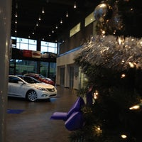 Photo taken at Johnson Hyundai of Cary by Jeni D. on 12/12/2012