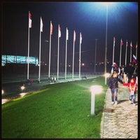 Снимок сделан в Олимпийский парк пользователем Ерютинка . 4/20/2013