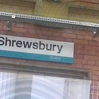 Photo taken at Shrewsbury Railway Station (SHR) by Gina T. on 2/3/2013