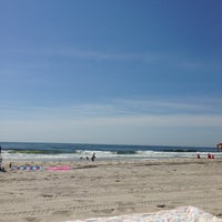 Photo taken at Brant Beach by Charlie D. on 6/22/2013