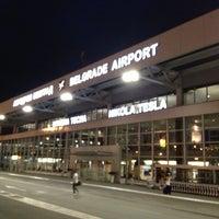 Photo taken at Belgrade Nikola Tesla Airport (BEG) by Ольга М. on 6/23/2013