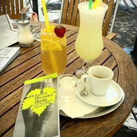 """Photo taken at Jiné Café """"stará kavárna"""" / bistro by Andrea B. on 7/27/2013"""
