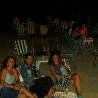 Photo taken at Balkon Cafe Beach by Marta K. on 7/21/2015