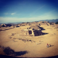 Photo taken at Monte Albán by Wendy A. on 12/28/2012