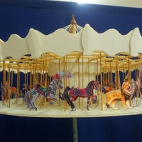 Photo taken at Albany Carousel & Museum by kat S. on 11/18/2014