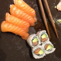 Photo taken at Sushi Shop by Olivier D. on 11/22/2012