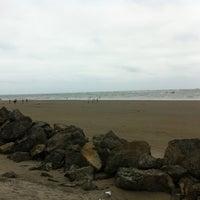 Photo taken at Playa Cojimies by Sebas V. on 7/21/2013
