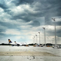 Photo taken at Munich Franz Josef Strauss Airport (MUC) by Stephan B. on 6/27/2013