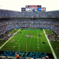 Photo taken at Bank of America Stadium by Brent A. on 9/16/2012