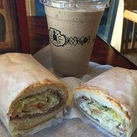 Photo taken at Potbelly Sandwich Shop by April G. on 2/27/2015