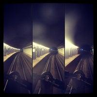 Photo taken at MTA Subway - High St/Brooklyn Bridge (A/C) by Evelyn C. on 12/14/2012