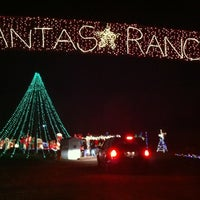 Photo taken at Santa's Ranch by Lulu C. on 11/25/2012