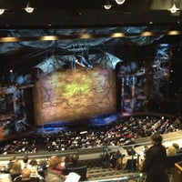 Photo taken at Gershwin Theatre by Xi C. on 1/11/2013