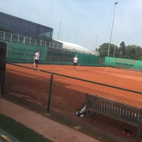 Photo taken at Tennis Club Duinbergen by Emmy V. on 8/25/2017