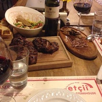 Photo taken at The Butcher Shop & Etçii Steakhouse by C. P. on 1/25/2014