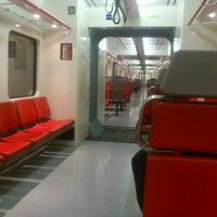 Photo taken at Tren Suburbano Tlalnepantla by Kheri V. on 1/24/2013