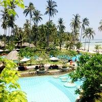 Photo taken at Phi Phi Island Village Beach Resort & Spa by Jeffzilla on 4/21/2013
