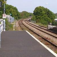 Photo taken at Saxmundham Railway Station (SAX) by Rach C. on 5/26/2013