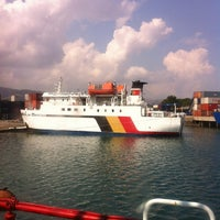 Photo taken at dili port by Chupy S. on 11/19/2012