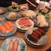 Photo taken at 回転さかなや鮨 魚忠 則武本通店 by コボリ ツ. on 11/3/2013