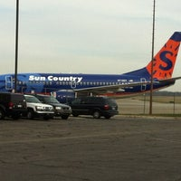 Photo taken at Capital Region International Airport (LAN) by Lisa A. on 11/19/2012