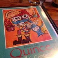 Photo taken at Quince Grill & Cantina by Amanda on 12/2/2012