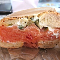Photo taken at H&H Midtown Bagels East by Aileen T. on 1/5/2013
