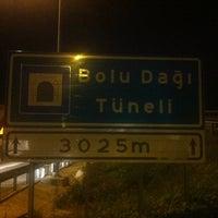 Photo taken at Bolu Dağı Tüneli by MKB 1. on 7/9/2013