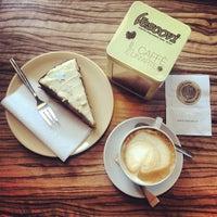 Photo taken at Cafe Vescovi by Regina B. on 12/22/2013