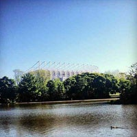 Photo taken at Leazes Park by Andrew D. on 6/13/2013