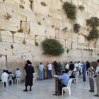 Photo taken at The Western Wall (Kotel) by Aviel S. on 5/21/2013